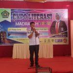 Expo Literasi Madrasah Ditutup Kadispusip Sinjai, Begini Pesannya